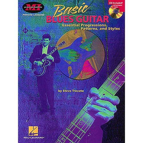 HAL LEONARD STEVE TROVATO BASIC BLUES + CD - GUITAR TAB