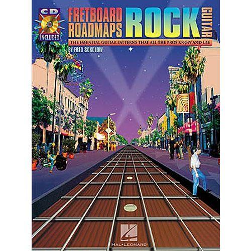 HAL LEONARD FRETBOARD ROADMAPS ROCK + CD - GUITAR TAB