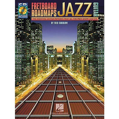 HAL LEONARD FRETBOARD ROADMAPS JAZZ + CD - GUITAR TAB