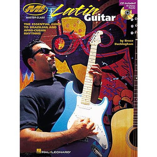 HAL LEONARD BRUCE BUCKINGHAM LATIN + CD - GUITAR TAB