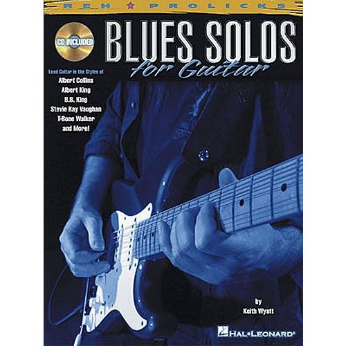 HAL LEONARD BLUES SOLOS + CD - GUITAR TAB