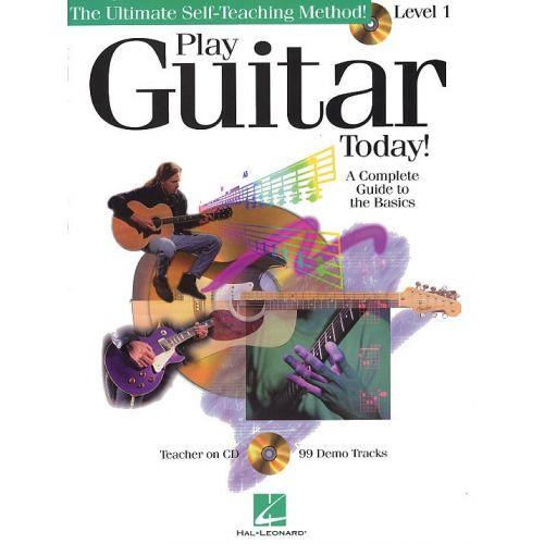 HAL LEONARD PLAY GUITAR TODAY! LEVEL 1 + CD - GUITAR