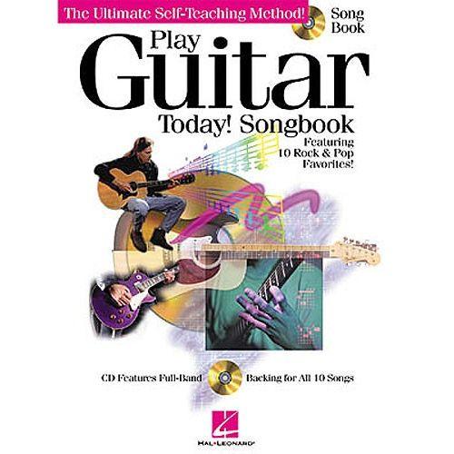 HAL LEONARD PLAY GUITAR TODAY! SONGBOOK + CD - GUITAR