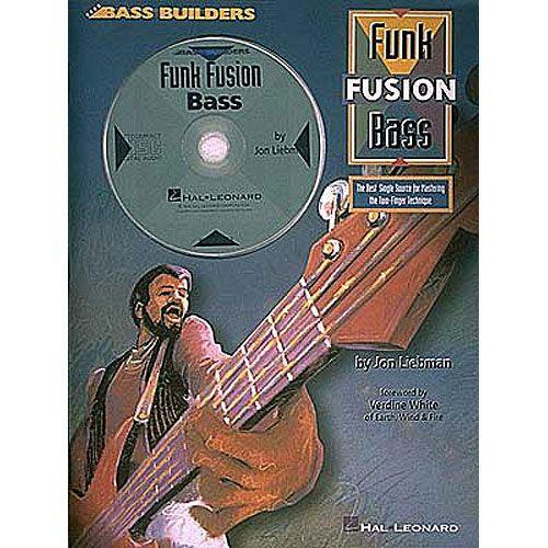 HAL LEONARD LIEBMAN JON - FUNK FUSION BASS TAB + CD