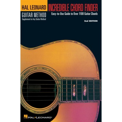 HAL LEONARD HAL LEONARD INCREDIBLE CHORD FINDER (SMALL FORMAT) - DICTIONNAIRE ACCORDS GUITARE