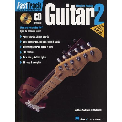 HAL LEONARD FAST TRACK GUITAR VOL.2 + CD - GUITAR TAB