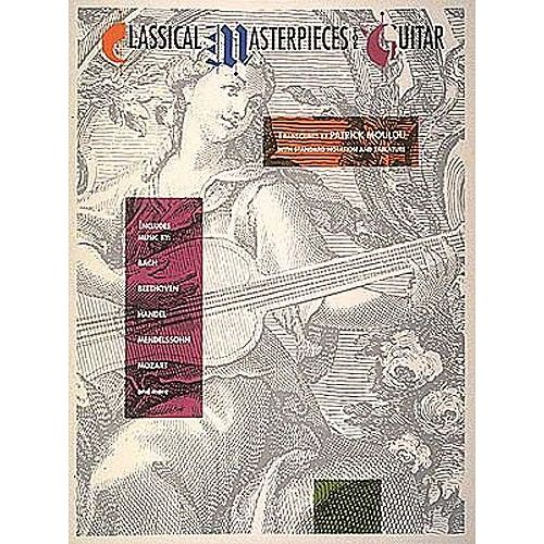 HAL LEONARD CLASSICAL MASTERPIECES FOR GUITAR - GUITAR TAB
