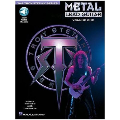 HAL LEONARD STETINA TROY - METAL LEAD GUITAR + MP3 - GUITAR TAB VOL.1