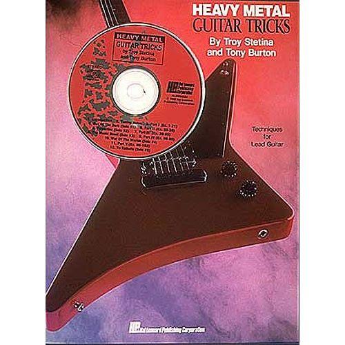 HAL LEONARD STETINA TROY - METAL GUITAR TRICKS+ CD - GUITAR TAB