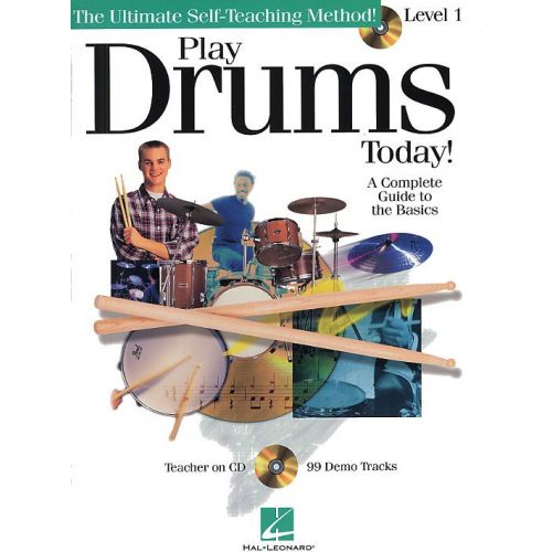 HAL LEONARD PLAY DRUMS TODAY! LEVEL 1 + CD - DRUMS
