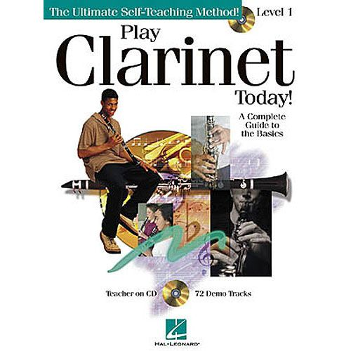HAL LEONARD PLAY CLARINET TODAY! LEVEL 1 + CD - CLARINET