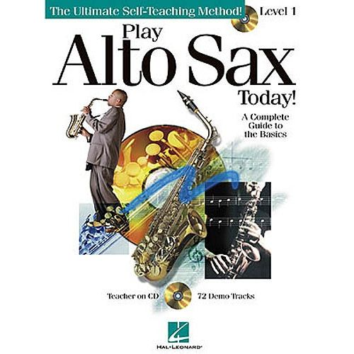 HAL LEONARD PLAY ALTO SAX TODAY! LEVEL 1 + CD - ALTO SAXOPHONE