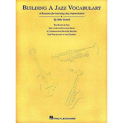 HAL LEONARD BUILDING A JAZZ VOCABULARY ALL INST - ALL INSTRUMENTS