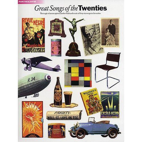 HAL LEONARD GREAT SONGS OF THE TWENTIES - PVG
