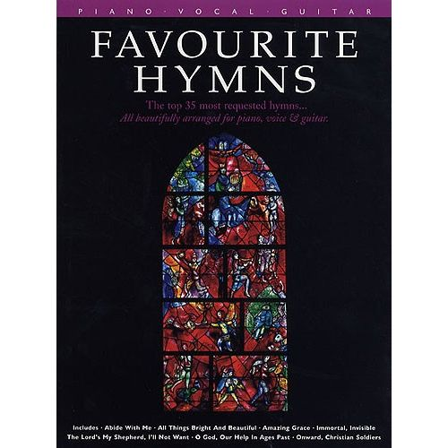 HAL LEONARD FAVOURITE HYMNS - PVG