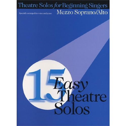 HAL LEONARD 15 EASY THEATRE SOLOS - PVG