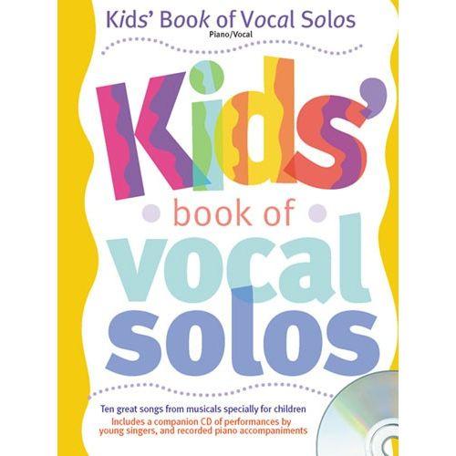 HAL LEONARD KIDS' BOOK OF VOCAL SOLOS - PVG