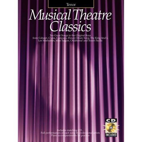 HAL LEONARD MUSICAL THEATRE CLASSICS TENOR + CD - TENOR