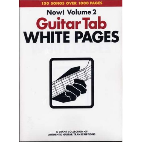 HAL LEONARD WHITE PAGES GUITAR VOL.2 - GUITAR TAB