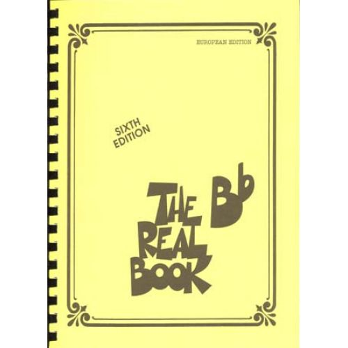 HAL LEONARD THE BB REAL BOOK SIXTH EDITION