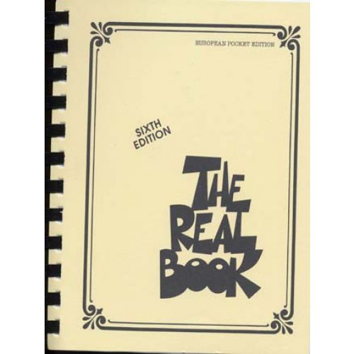 The real book european pocket edition sixth edition.