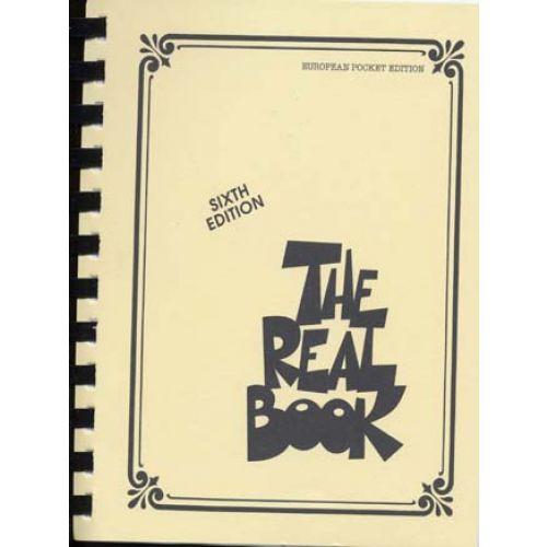 HAL LEONARD THE REAL BOOK 6TH EDITION POCKET EDITION (VERSION EN DO)