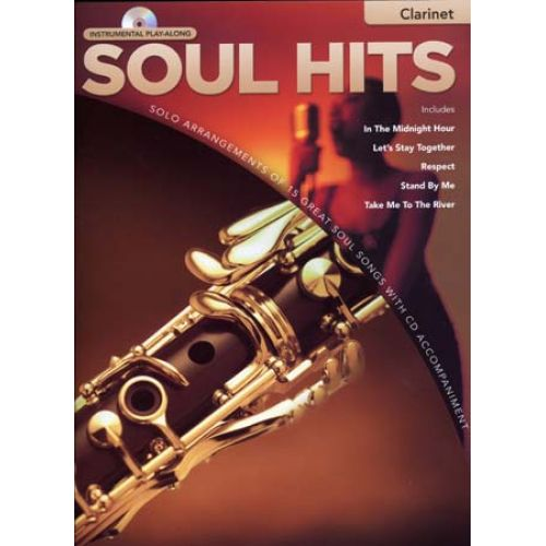 HAL LEONARD INSTRUMENTAL PLAY ALONG - SOUL HITS + CD - CLARINET