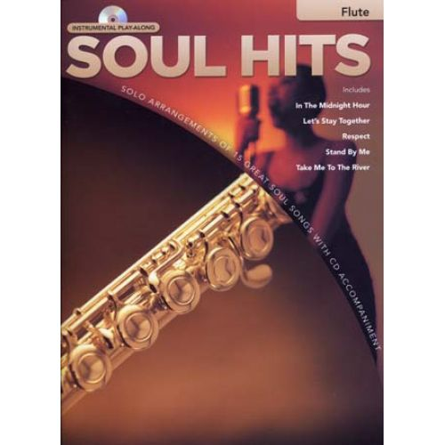 HAL LEONARD INSTRUMENTAL PLAY ALONG - SOUL HITS + CD - FLUTE