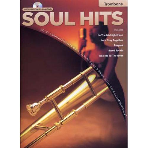 HAL LEONARD INSTRUMENTAL PLAY ALONG SOUL HITS TROMBONE + CD
