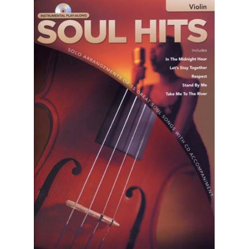 HAL LEONARD INSTRUMENTAL PLAY ALONG - SOUL HITS + CD - VIOLIN