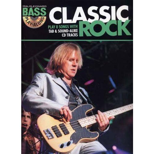 HAL LEONARD BASS PLAY ALONG CLASSIC ROCK + CD