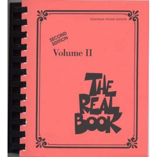 HAL LEONARD REAL BOOK 2ND EDITION VOL.2 EUROPEAN POCKET EDITION
