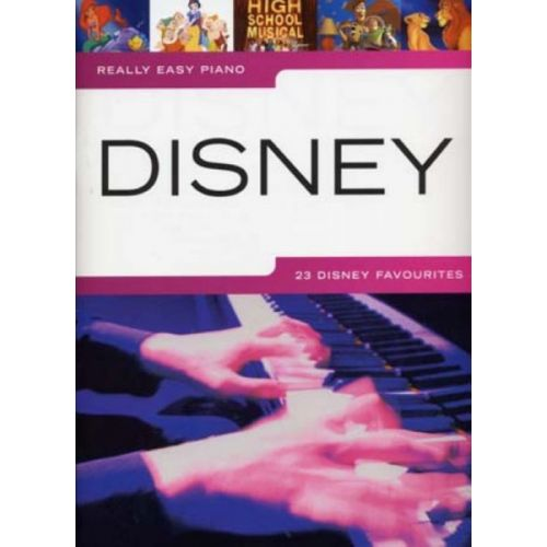 HAL LEONARD DISNEY REALLY EASY PIANO