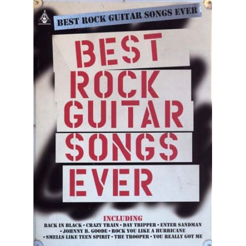 HAL LEONARD BEST ROCK GUITAR SONGS EVER - GUITAR TAB