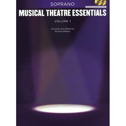 HAL LEONARD MUSICAL THEATRE ESSENTIALS - SOPRANO - VOLUME 1