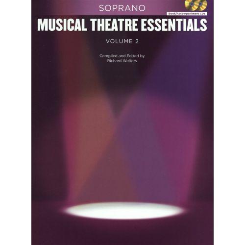 HAL LEONARD MUSICAL THEATRE ESSENTIALS - SOPRANO - VOLUME 2