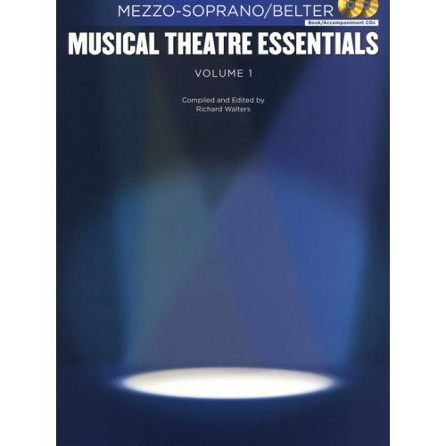 HAL LEONARD MUSICAL THEATRE ESSENTIALS - MEZZO-SOPRANO - VOLUME 1