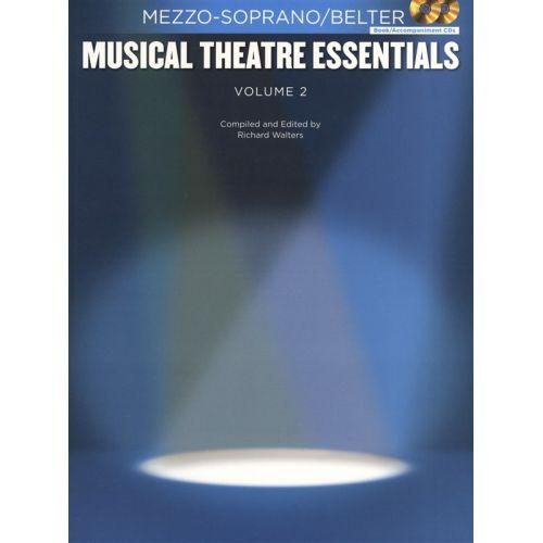 HAL LEONARD MUSICAL THEATRE ESSENTIALS - MEZZO-SOPRANO - VOLUME 2