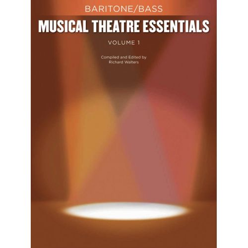 HAL LEONARD MUSICAL THEATRE ESSENTIALS - BARITONE/BASS - VOLUME 1 - BASS VOICE