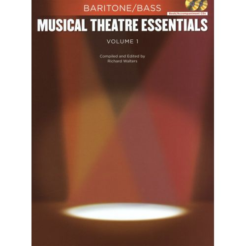 HAL LEONARD MUSICAL THEATRE ESSENTIALS - BARITONE/BASS - VOLUME 1