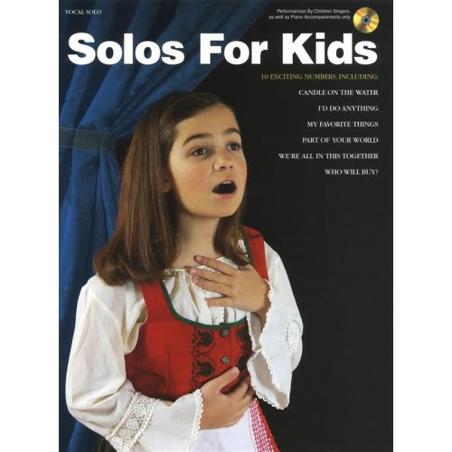 HAL LEONARD SOLOS FOR KIDS VOICE + CD - VOICE