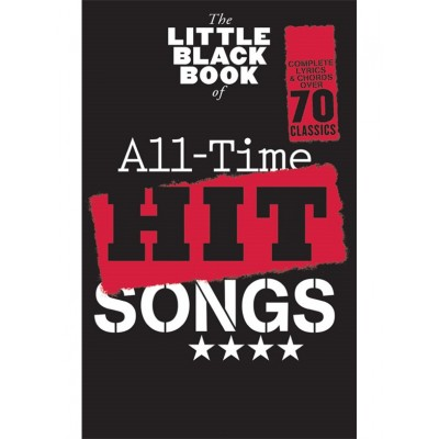 WISE PUBLICATIONS LITTLE BLACK SONGBOOK - ALL TIME HIT SONGS - PAROLES & ACCORDS