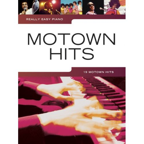 WISE PUBLICATIONS REALLY EASY PIANO - MOTOWN HITS - PIANO SOLO