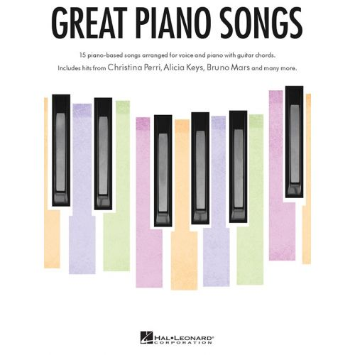 WISE PUBLICATIONS GREAT PIANO SONGS - PVG