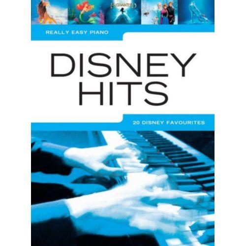 HAL LEONARD REALLY EASY PIANO - DISNEY HITS