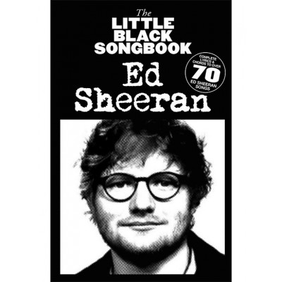 HAL LEONARD LITTLE BLACK SONGBOOK - ED SHEERAN - PAROLES & ACCORDS