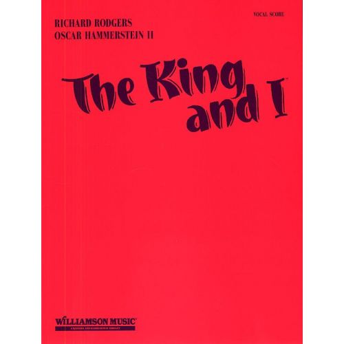 HAL LEONARD RODGERS AND HAMMERSTEIN THE KING AND I VCE - CHORAL
