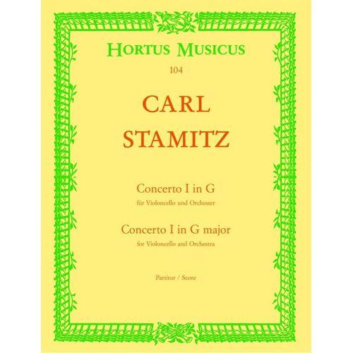 BARENREITER STAMITZ CARL - VIOLONCELLO CONCERTO FOR THE KING OF PRUSSIA. NO. 1 G MAJOR