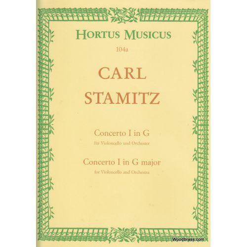 HORTUS MUSICUS STAMITZ C. - VIOLONCELLO-KONZERT G-DUR - VIOLONCELLE ET PIANO