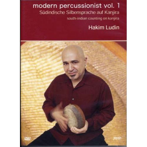 MUSIC SALES LUDIN HAKIM - MODERN PERSUSSIONIST VOL.1 - SOUTH INDIAN KANJIRA